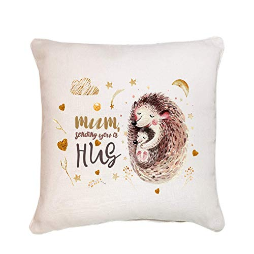 Mum sending you a hug cushion/Cute Mother's Day Gift/Mum and baby/Mother gift/Mummy birthday/Social distanced gift for…