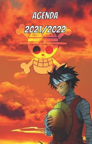 Agenda manga one piece 2021/2022: Un agenda scolaire de septembre à juin avec des illustrations à l'intérieur
