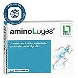 aminoLoges Aminosäuren Tabletten für Sportler - 100 Tabletten für die Nahrungsergänzung von Sportlern zur Verzögerung der Ermüdung