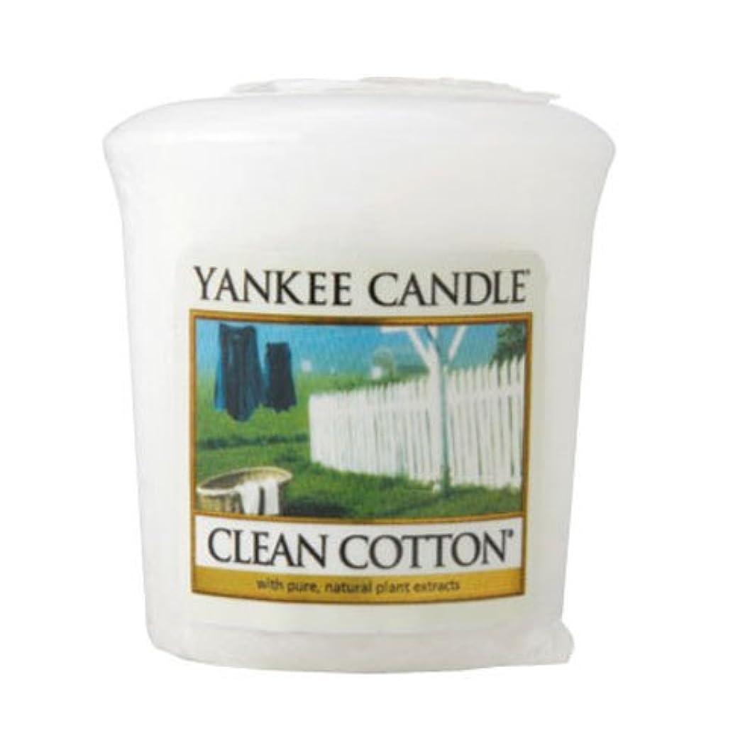 窒息させるオゾン気難しいヤンキーキャンドル 正規品 YCサンプラー クリーンコットン (YK0010501 4901435938219)