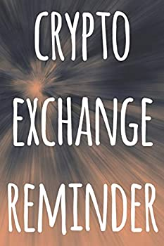 Crypto Exchange Reminder  The perfect way to record your crypto transactions and which exchange they are held on! Ideal gift for anyone you know who trades / invests in cryptocurrency!