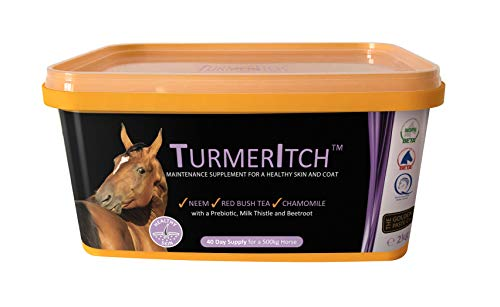 The Golden Paste Company TurmerItch Maintenance Horse Turmeric Supplement for a Healthy Skin and Coat 2kg