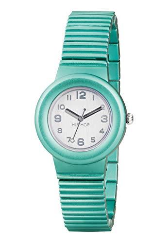 Orologio HIP HOP per donna ALUMINIUM con bracciale in alluminio, movimento SOLO TEMPO - 3H QUARZO