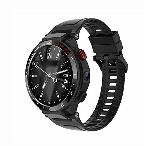 Lazzzgua 4G Smart Watch para Hombres Pantalla Táctil De 1.6 Pulgadas con Cámaras 4g Smartwatch para Pantalla 1GB + 16GB 900mah con Tarjeta Sim para Mujeres Mujeres