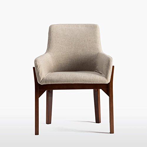 Fauteuils Chaise en Bois Massif à Manger Chaise en Bois créative Chaise à la Mode Chaise de Bureau Chaise en Bois de Loisirs et Chaises (Couleur : A)