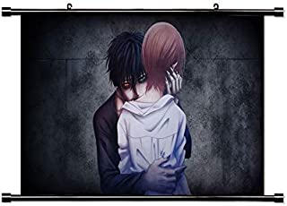 Devil's Line Anime Fabric Wall Scroll Poster (32x18) Inches [A] Devil's Line-2(L)