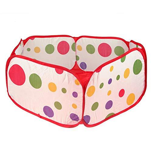 ZHEBEI Piscina para niños al aire libre juegos de interior punto bebé juguetes marino bola pozo (sin bola)