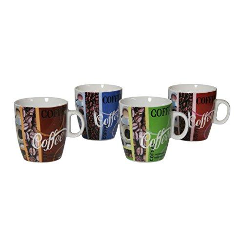 Ribelli Kaffeebecher PZ 250 ml rund Becher Teebecher Tasse Kaffeetasse Teetasse