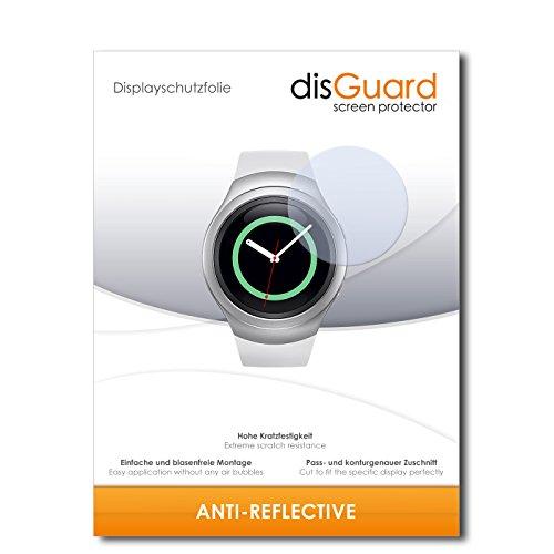 disGuard Displayschutzfolie für Samsung Gear S2 Classic [3 Stück] Anti-Reflex, MATT, Entspiegelnd, Extrem Kratzfest, Anti-Fingerabdruck - Displayschutz, Schutzfolie, Panzerfolie