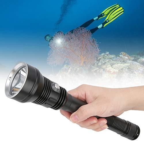 Seacanl Linterna LED Ligera, práctica y Conveniente para Buceo, prevención de desastres para Acampar para Adolescentes Adultos