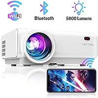 TOPTRO Vidéoprojecteur WiFi 5800 Lumens