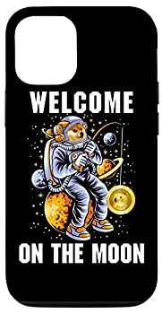 iPhone 12/12 Pro Dogecoin Moon Astronaut Welcome On The Moon Crypto Currency Case
