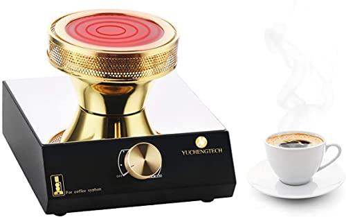 YUCHENGTECH Halogenstrahlheizung Brenner Siphon Kaffeekocher Strahlheizung für Kaffeesiphon (Einzelheizung)