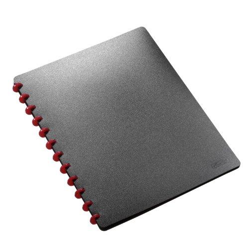 Herlitz 5514286 - Archivado portafolios con Fundas EasyFix Color Negro