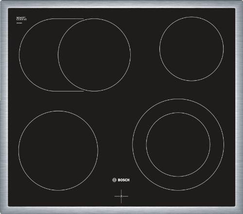 Bosch NKN645G17 Piano Cottura Incassato ad Induzione, 60 cm, Nero