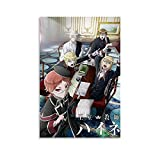 QWSZ Anime The Royal Tutor Poster Poster Canvas Decorative Painting Wall Art Living Room Posters Bedroom Painting Shop Decoration Poster 08x12inch(20x30cm)