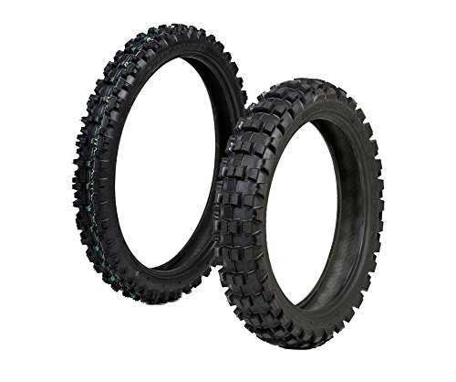 Protrax Tire Front 80/100-21 and Rear 110/90-19
