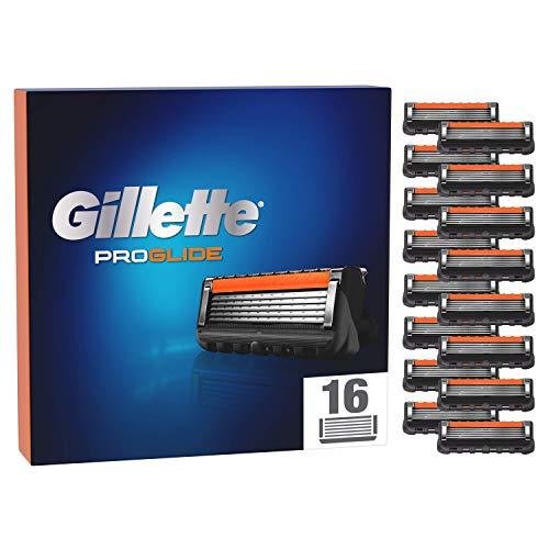 Gillette ProGlide - Recambios de cuchillas de afeitar para hombre, 16 hojas de recambio