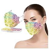 RUITOTP 10 Piezas Adulto,Protección 4 Capas Colores Forma de Pez con Elástico para Los Oídos (20#10PC)