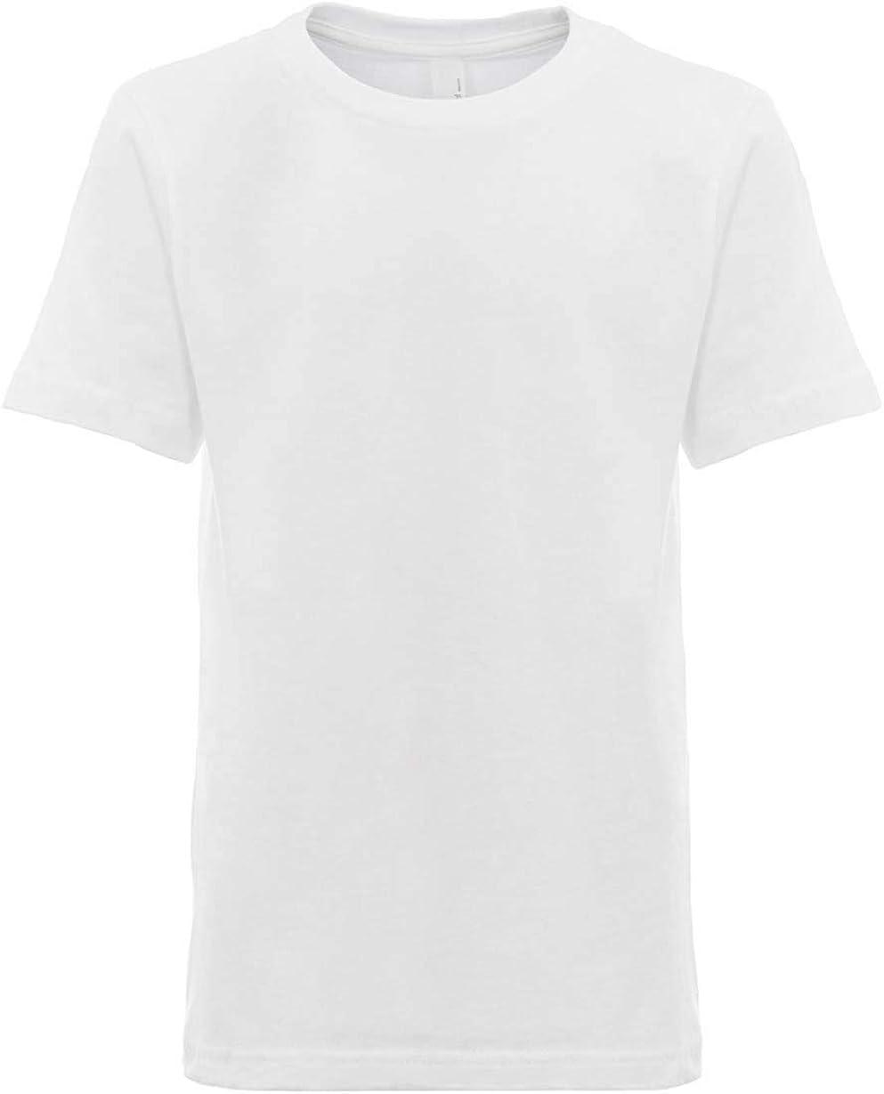 Next Level Kids Crew Neck T-Shirt White XS