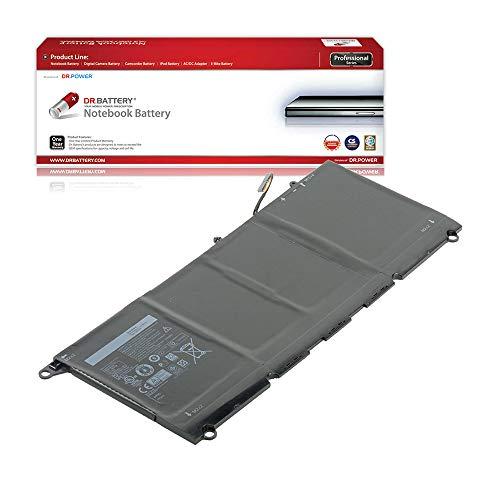 DR. BATTERY Laptop Battery for Dell JD25G XPS 13-9343 13-9350 P54G001 P54G002 InfinityEdge Ultrabook 13D-9343-1808T 13D-9343-1608T 13-9350-D1508 0N7T6 5K9CP JHXPY 90V7W [7.4V/6000mAh/44Wh]