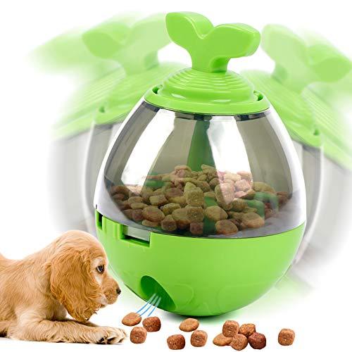 Toyssa Futterball für Hunde Tumbler Hundespielzeug Leckerli Snackball Futterspender IQ Training Lernspielzeug für Kleine Mittelgroß Hunde Katzen
