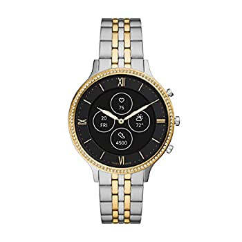 Fossil Women s Charter Stainless Steel Hybrid HR Smartwatch Color  Two-Tone  Model  FTW7032