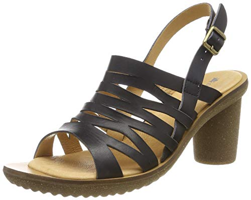 El Naturalista Trivia, Zapatos de tacón con Punta Cerrada Mujer, Negro (Black Black), 39 EU