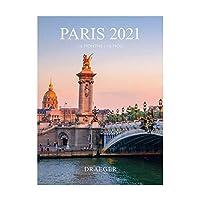 LE CHARME ÉTERNEL DE LA VILLE LUMIÈRE : Promenez-vous tout au long de l'année 2021 dans les plus beaux endroits de Paris ! Des Champs-Élysées à Montmartre, en passant par le pont Alexandre III, le calendrier vous dévoilera 12 superbes photographies d...