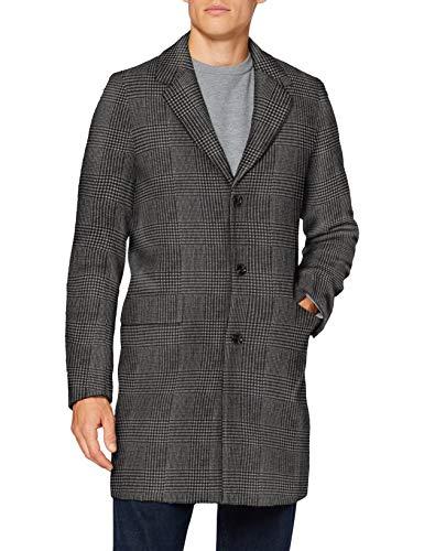 Scotch & Soda Mens Klassischer einreihiger Mantel aus Wollmischung Wool Blend Coat, Combo A 0217, XL