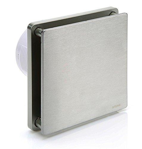 STERR - Plata Acero Inoxidable Baño Ventilador - BFS100-S