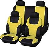 Alivisa Asiento 8 de septiembre de Cubiertas Enteras Cubiertas de automóviles Cojines de los Asientos completos 5 Seaters Universial Primera Prima Asientos Traseros de automóviles y Traje de.