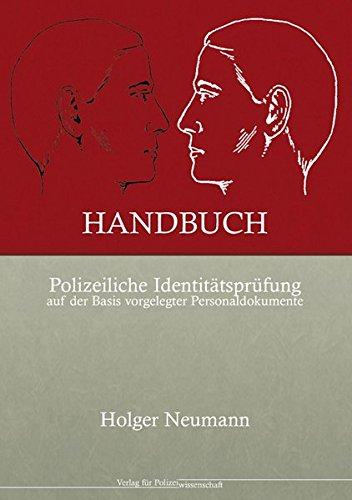 Handbuch Polizeiliche Identitätsprüfung auf der Basis vorgelegter Personaldokumente