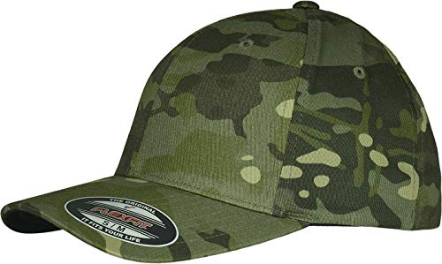 Flexfit Unisex Baseball Cap, Multicam Tropic, L/XL