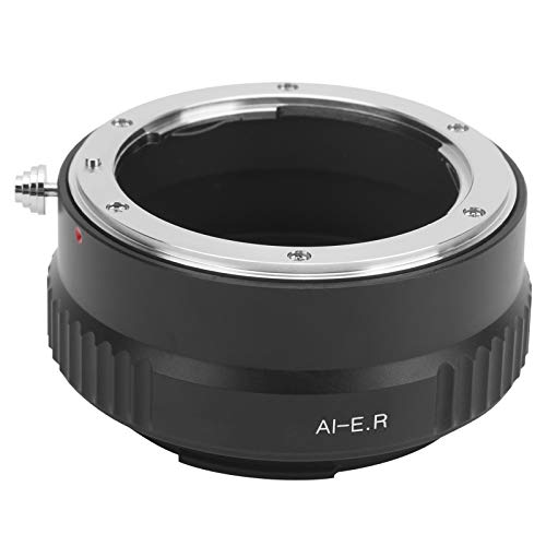 Vbestlife Anillo Adaptador de Lente de Enfoque Manual, para Lente de Montura Nikon AI, para Montura RF de Canon, para cámara Canon EOS R/PR / R5 / R6, Adaptador de Lente