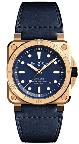 Bell & Ross BR 03-92 Diver Bronze Navy Blue Limited Edition of 250 Pieces to Americas