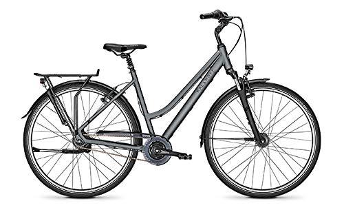 Kalkhoff Agattu 8R Trekking Fahrrad 2021 (28 inches, Cumberlandgrey Matt (Damen))