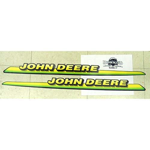 John Deere Hood Trim Decal Set for 325 GT225 LX225 M126040 M126041