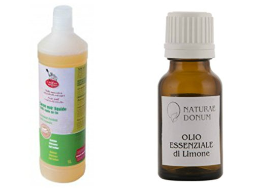 savon noir à l'huile de lin bio 1 litre