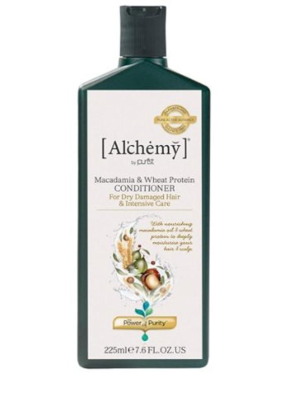 ラップトップ尊敬する九月[Al'chemy] Macadamia & Wheat Protein Treatment Conditioner アルケミー マカダミア&プロテイントリートメントコンディショナー