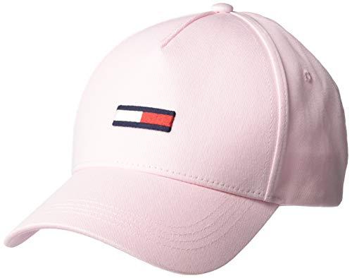 Tommy Jeans Damen TJW Flag Cap Hut, Romantisches rosa, Einheitsgröße