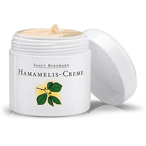 Hamamelis-Creme mit hochwertigen Ölen und Hamamelis-Extrakt, Inhalt 100 ml