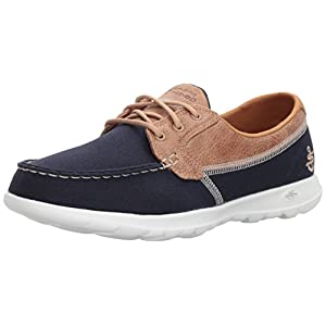 Skechers Women's Go Walk Lite-15430 Boat Shoe