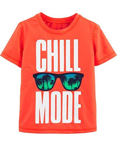 Osh Kosh Little Boys' Rashguard, Chill Mode, 10-12