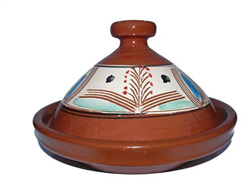Marokkanische Tajine zum Kochen Ø 35 cm für 3-5 Personen - 905118-00097