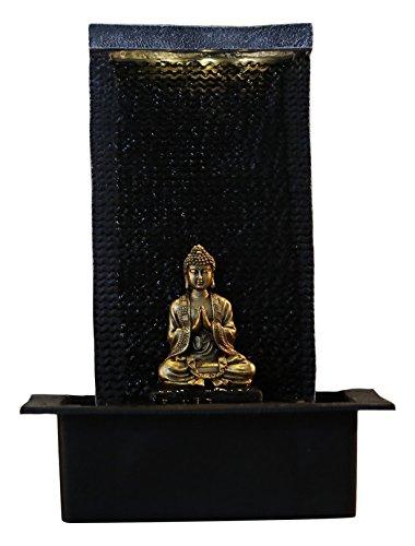 Zen Light Zenitude Brunnen Polyresin schwarz 31x 31x 42cm