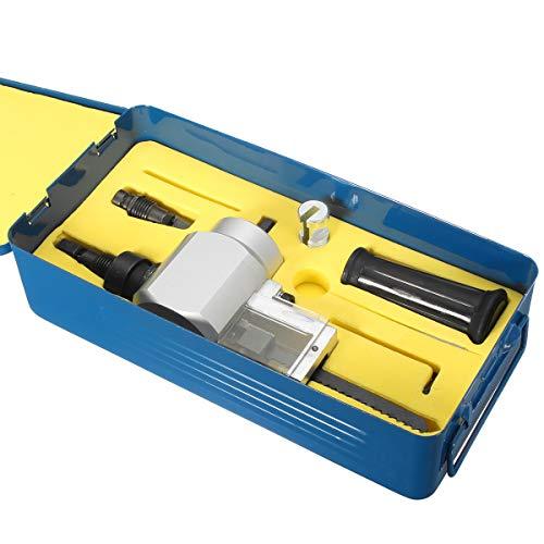 ExcLent Doppelkopf Blechknabber Cutter Mit Metallbox Yt-180A Schneid Säge Werkzeug Bohrmaschine Aufsatz