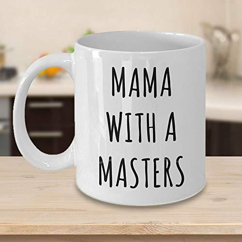 Divertida taza de café, taza de maestría para mamá mamá, regalo para mamá, taza de café de 12 onzas, taza de té o café, taza de café novedosa taza de regalo para mujeres y hombres