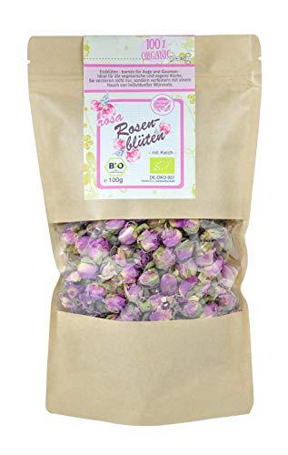 direct&friendly Bio Rosenblüten Tee getrocknet Essblüten (100 g)