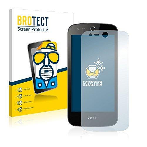 BROTECT 2X Entspiegelungs-Schutzfolie kompatibel mit Acer Liquid M320 Bildschirmschutz-Folie Matt, Anti-Reflex, Anti-Fingerprint